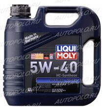 Масло моторное 4л. Optimal Synth 5W40 Liqui Moly 3926
